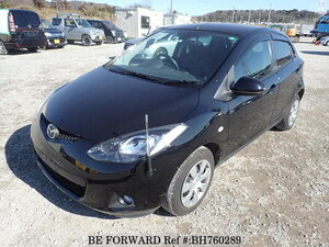 Used 2009 MAZDA DEMIO BH760289 for Sale