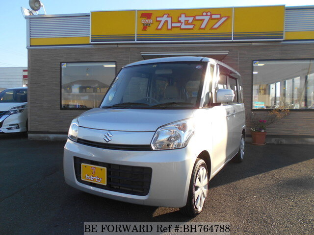 Used 2014 SUZUKI SPACIA BH764788 for Sale