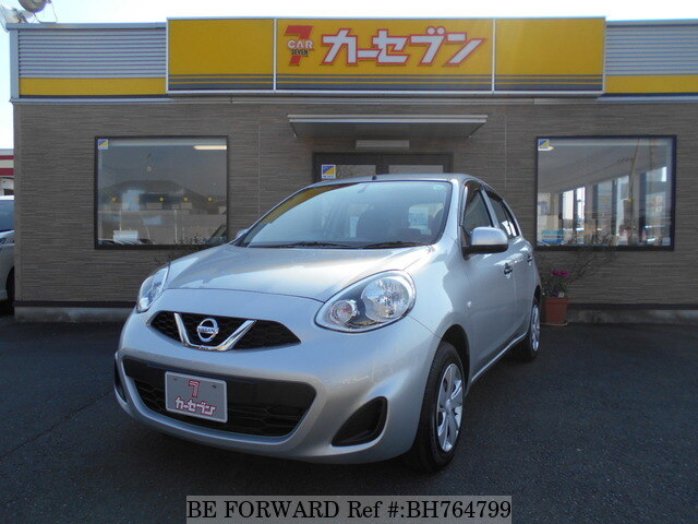 Used 2017 NISSAN MARCH BH764799 for Sale