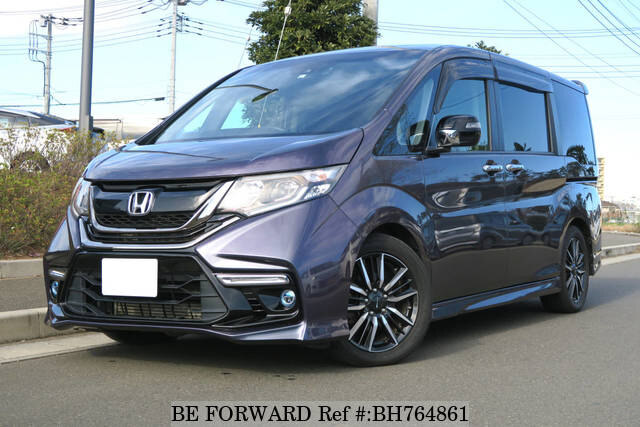 Used 2017 HONDA STEP WGN BH764861 for Sale