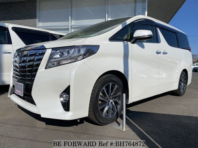 Used 2015 TOYOTA ALPHARD BH764872 for Sale
