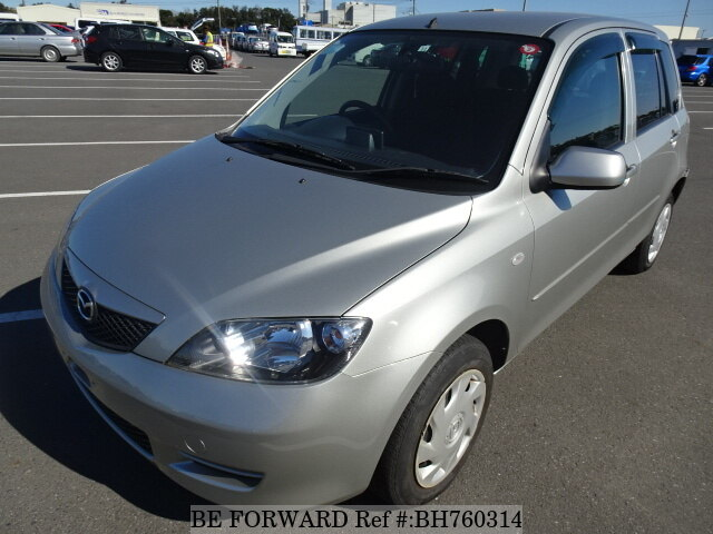 Used 2004 MAZDA DEMIO BH760314 for Sale