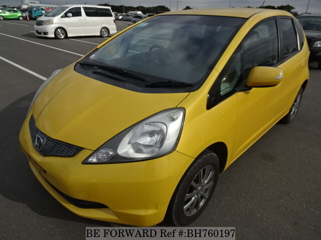 Used 2009 HONDA FIT BH760197 for Sale