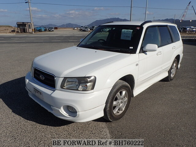 Used 2002 SUBARU FORESTER BH760222 for Sale