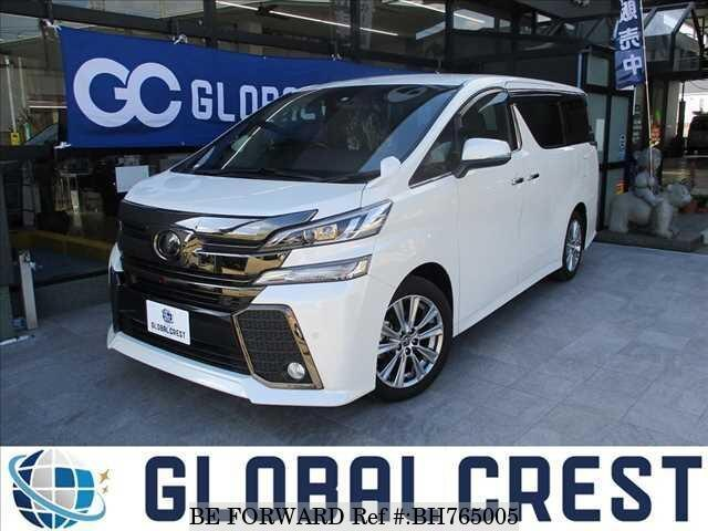 Used 2017 TOYOTA VELLFIRE BH765005 for Sale