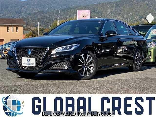 Used 2018 TOYOTA CROWN HYBRID BH765067 for Sale