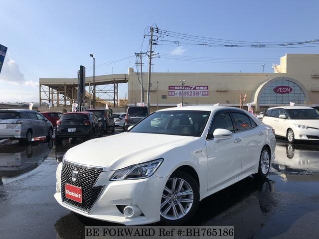 Used 2015 TOYOTA CROWN HYBRID BH765186 for Sale