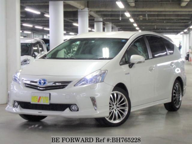 Used 2014 TOYOTA PRIUS ALPHA BH765228 for Sale