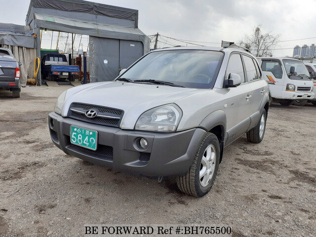 Used 2005 HYUNDAI TUCSON BH765500 for Sale