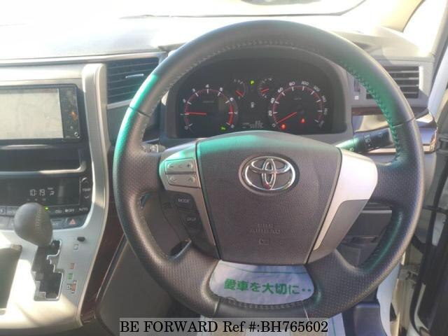 Used 2012 TOYOTA VELLFIRE BH765602 for Sale