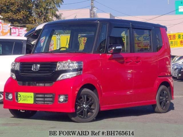 Used 2015 HONDA N BOX BH765614 for Sale
