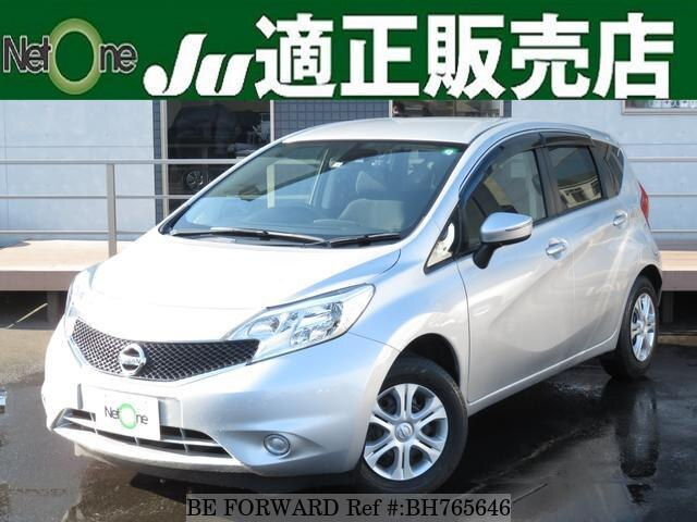 Used 2016 NISSAN NOTE BH765646 for Sale