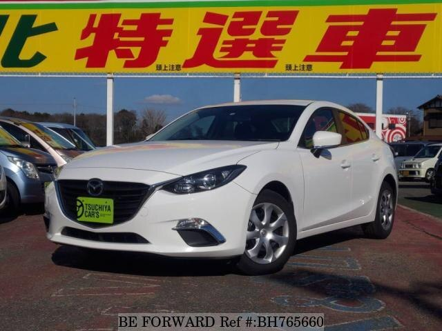 Used 2015 MAZDA AXELA BH765660 for Sale