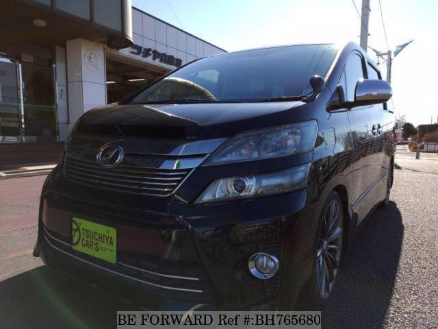 Used 2012 TOYOTA VELLFIRE BH765680 for Sale