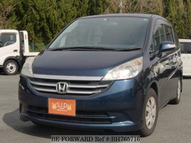 Used 2009 HONDA STEP WGN BH765716 for Sale