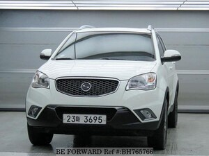 Used 2011 SSANGYONG KORANDO BH765766 for Sale