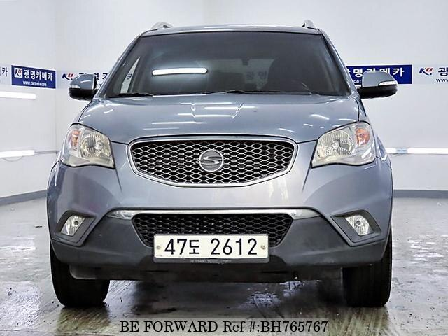 Used 2011 SSANGYONG KORANDO BH765767 for Sale