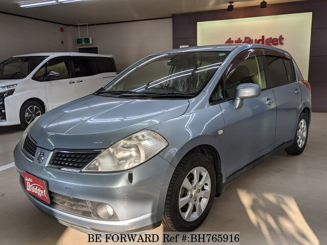 Used 2005 NISSAN TIIDA BH765916 for Sale