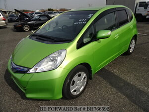 Used 2010 HONDA FIT HYBRID BH766592 for Sale