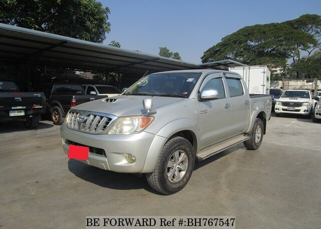 Used 2008 TOYOTA HILUX BH767547 for Sale