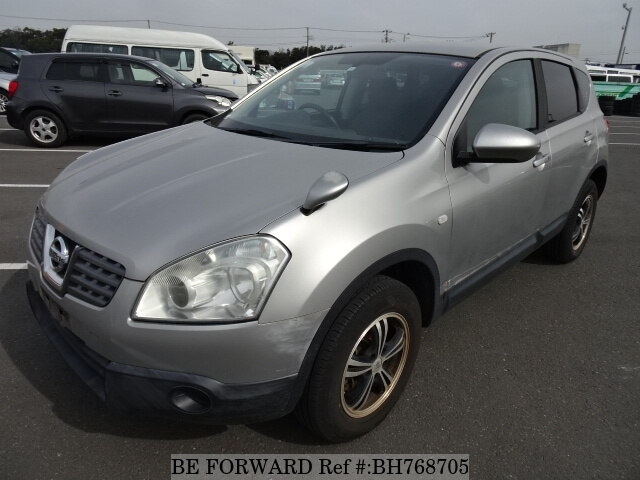 Used 2008 NISSAN DUALIS BH768705 for Sale
