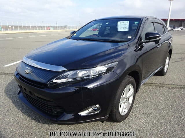 Used 2015 TOYOTA HARRIER BH768666 for Sale