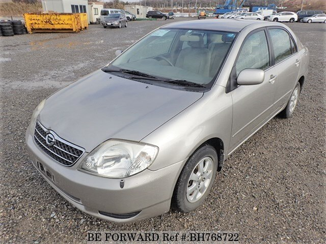 Used 2000 TOYOTA COROLLA SEDAN BH768722 for Sale