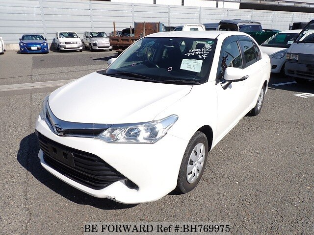 Used 2016 TOYOTA COROLLA AXIO BH769975 for Sale