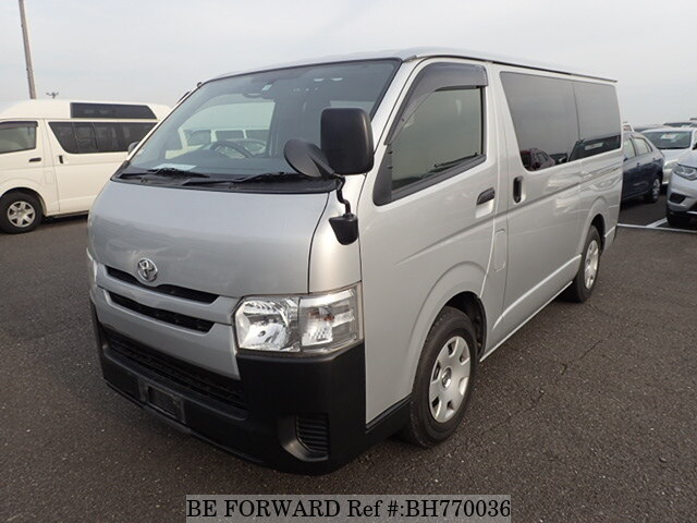 Used 2014 TOYOTA HIACE VAN BH770036 for Sale