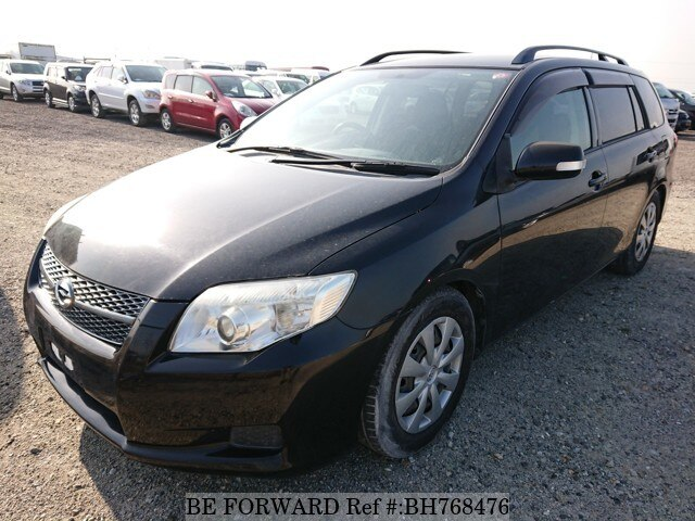 Used 2008 TOYOTA COROLLA FIELDER BH768476 for Sale