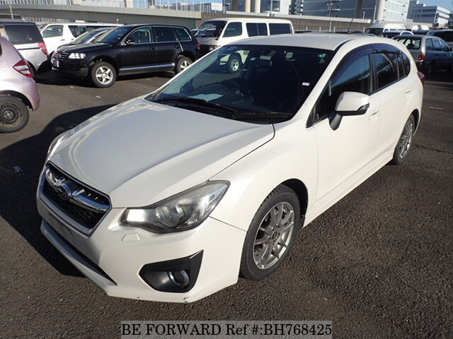 Used 2013 SUBARU IMPREZA SPORTS BH768425 for Sale