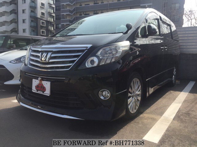 Used 2012 TOYOTA ALPHARD BH771338 for Sale