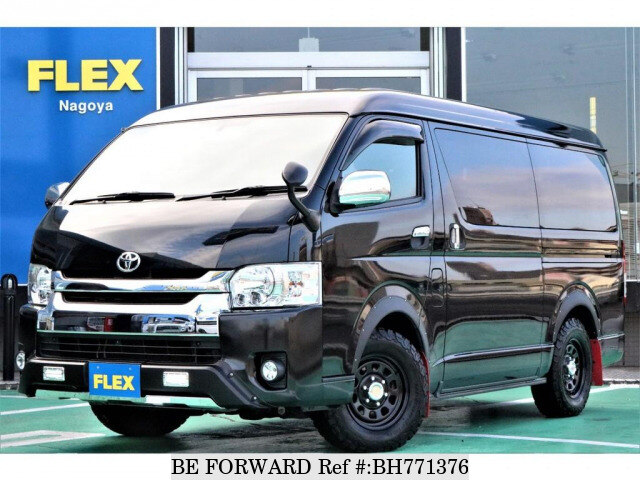 Used 2016 TOYOTA HIACE WAGON BH771376 for Sale