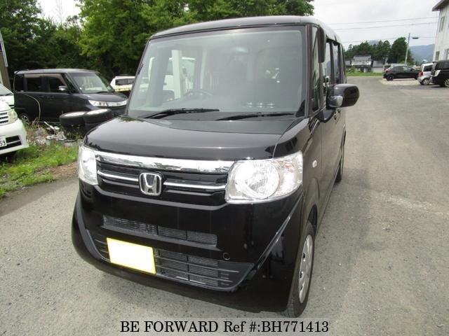 Used 2017 HONDA N BOX BH771413 for Sale
