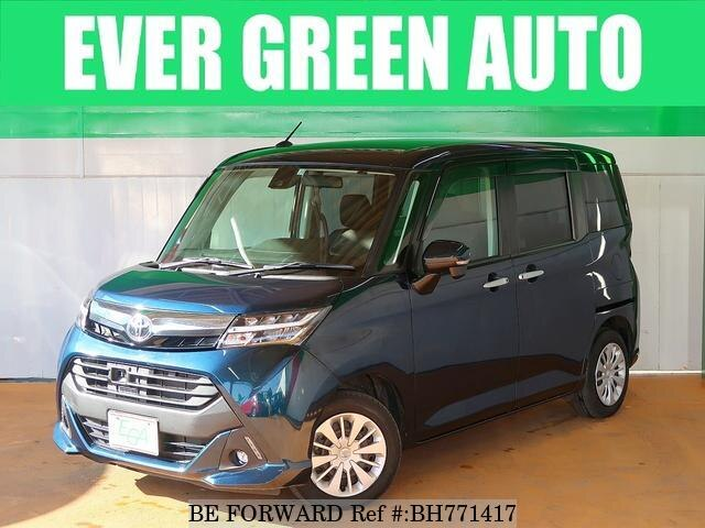 Used 2017 TOYOTA TANK BH771417 for Sale