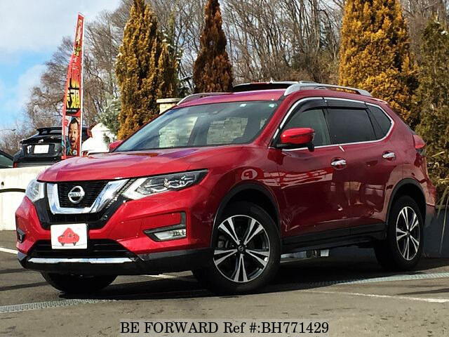 Used 2017 NISSAN X-TRAIL BH771429 for Sale