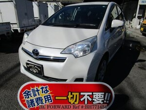 Used 2011 TOYOTA RACTIS BH771454 for Sale