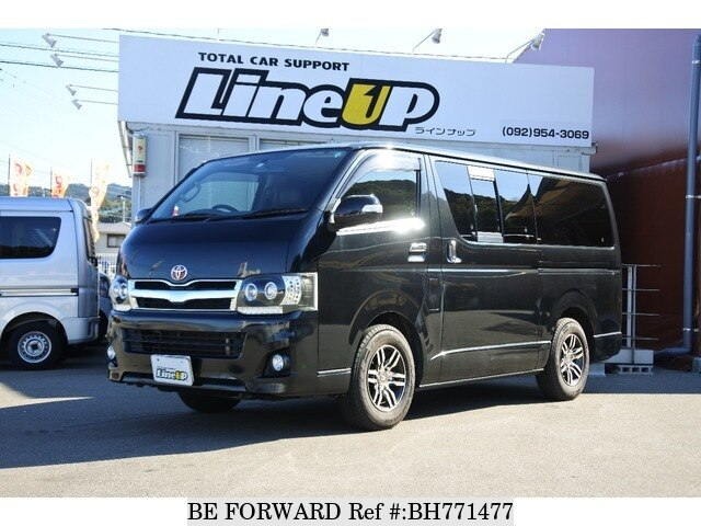 Used 2013 TOYOTA HIACE VAN BH771477 for Sale