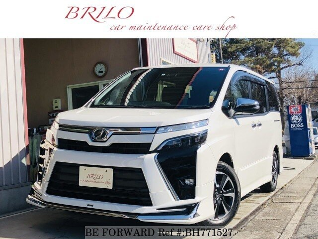 Used 2018 TOYOTA VOXY BH771527 for Sale