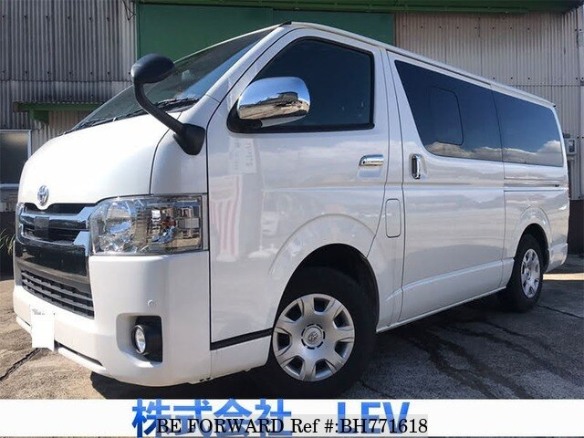 Used 2020 TOYOTA HIACE VAN BH771618 for Sale