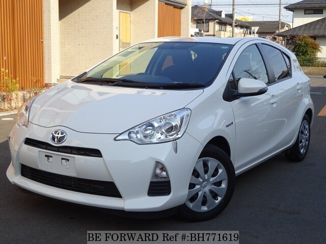 Used 2014 TOYOTA AQUA BH771619 for Sale