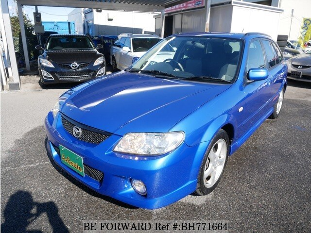 Used 2002 MAZDA FAMILIA S-WAGON BH771664 for Sale