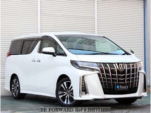 Used 2018 TOYOTA ALPHARD BH771683 for Sale