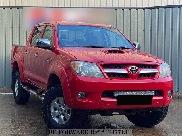 Used 2008 TOYOTA HILUX BH771812 for Sale