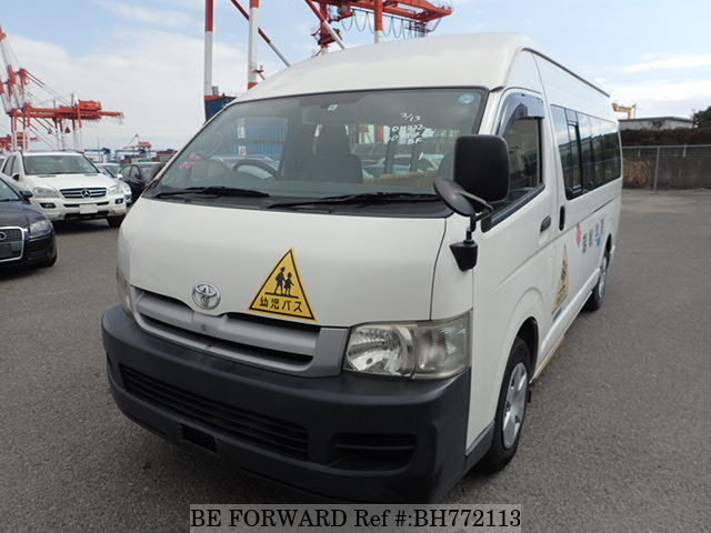Used 2006 TOYOTA HIACE COMMUTER BH772113 for Sale