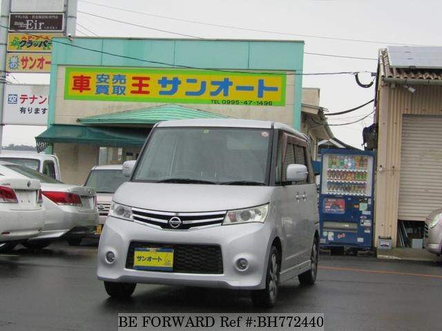 Used 2009 NISSAN ROOX BH772440 for Sale