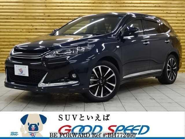 Used 2015 TOYOTA HARRIER BH772460 for Sale