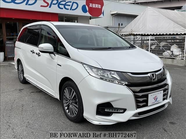 Used 2017 HONDA ODYSSEY BH772487 for Sale