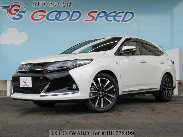 Used 2018 TOYOTA HARRIER BH772499 for Sale