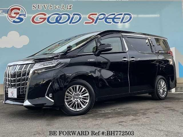 Used 2018 TOYOTA ALPHARD HYBRID BH772503 for Sale